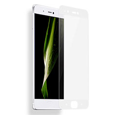 Schutzfolie Full Coverage Displayschutzfolie Panzerfolie Skins zum Aufkleben Gehärtetes Glas Glasfolie F04 für Xiaomi Mi 5S 4G Weiß