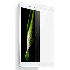 Schutzfolie Full Coverage Displayschutzfolie Panzerfolie Skins zum Aufkleben Gehärtetes Glas Glasfolie F04 für Xiaomi Mi 5S Plus Weiß