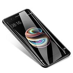 Schutzfolie Full Coverage Displayschutzfolie Panzerfolie Skins zum Aufkleben Gehärtetes Glas Glasfolie F04 für Xiaomi Mi 5X Weiß