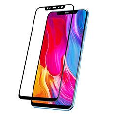 Schutzfolie Full Coverage Displayschutzfolie Panzerfolie Skins zum Aufkleben Gehärtetes Glas Glasfolie F04 für Xiaomi Mi 8 Explorer Schwarz