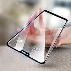 Schutzfolie Full Coverage Displayschutzfolie Panzerfolie Skins zum Aufkleben Gehärtetes Glas Glasfolie F04 für Xiaomi Redmi 6 Pro Schwarz