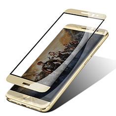 Schutzfolie Full Coverage Displayschutzfolie Panzerfolie Skins zum Aufkleben Gehärtetes Glas Glasfolie F05 für Huawei Nova Plus Gold
