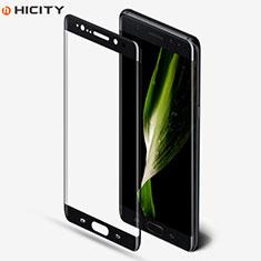 Schutzfolie Full Coverage Displayschutzfolie Panzerfolie Skins zum Aufkleben Gehärtetes Glas Glasfolie F05 für Samsung Galaxy Note 7 Schwarz