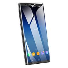 Schutzfolie Full Coverage Displayschutzfolie Panzerfolie Skins zum Aufkleben Gehärtetes Glas Glasfolie F05 für Samsung Galaxy Note 9 Schwarz