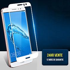 Schutzfolie Full Coverage Displayschutzfolie Panzerfolie Skins zum Aufkleben Gehärtetes Glas Glasfolie F06 für Huawei G9 Plus Weiß