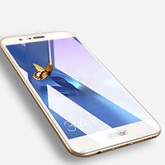 Schutzfolie Full Coverage Displayschutzfolie Panzerfolie Skins zum Aufkleben Gehärtetes Glas Glasfolie F06 für Huawei Honor 8 Pro Weiß