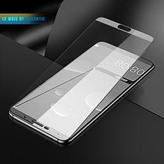 Schutzfolie Full Coverage Displayschutzfolie Panzerfolie Skins zum Aufkleben Gehärtetes Glas Glasfolie F06 für Huawei Mate 10 Weiß