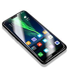 Schutzfolie Full Coverage Displayschutzfolie Panzerfolie Skins zum Aufkleben Gehärtetes Glas Glasfolie F08 für Huawei Honor 10 Schwarz