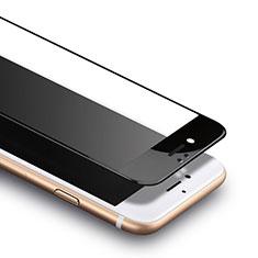 Schutzfolie Full Coverage Displayschutzfolie Panzerfolie Skins zum Aufkleben Gehärtetes Glas Glasfolie F13 für Apple iPhone SE (2020) Schwarz