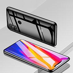 Schutzfolie Full Coverage Displayschutzfolie Panzerfolie Skins zum Aufkleben Gehärtetes Glas Glasfolie F19 für Xiaomi Mi 8 Schwarz