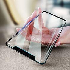 Schutzfolie Full Coverage Displayschutzfolie Panzerfolie Skins zum Aufkleben Gehärtetes Glas Glasfolie F20 für Xiaomi Mi 8 Schwarz