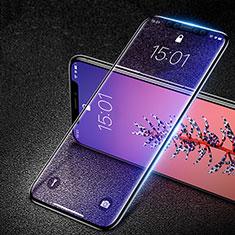 Schutzfolie Full Coverage Displayschutzfolie Panzerfolie Skins zum Aufkleben Gehärtetes Glas Glasfolie F29 für Apple iPhone Xs Max Schwarz