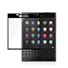 Schutzfolie Full Coverage Displayschutzfolie Panzerfolie Skins zum Aufkleben Gehärtetes Glas Glasfolie für Blackberry Passport Q30 Weiß
