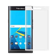 Schutzfolie Full Coverage Displayschutzfolie Panzerfolie Skins zum Aufkleben Gehärtetes Glas Glasfolie für Blackberry Priv Weiß