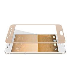 Schutzfolie Full Coverage Displayschutzfolie Panzerfolie Skins zum Aufkleben Gehärtetes Glas Glasfolie für HTC One A9 Gold