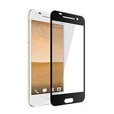 Schutzfolie Full Coverage Displayschutzfolie Panzerfolie Skins zum Aufkleben Gehärtetes Glas Glasfolie für HTC One A9 Schwarz
