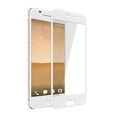 Schutzfolie Full Coverage Displayschutzfolie Panzerfolie Skins zum Aufkleben Gehärtetes Glas Glasfolie für HTC One A9 Weiß