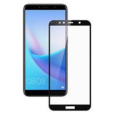 Schutzfolie Full Coverage Displayschutzfolie Panzerfolie Skins zum Aufkleben Gehärtetes Glas Glasfolie für Huawei Enjoy 8e Schwarz
