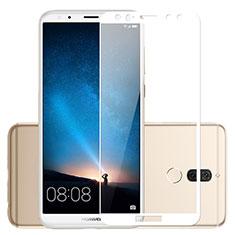 Schutzfolie Full Coverage Displayschutzfolie Panzerfolie Skins zum Aufkleben Gehärtetes Glas Glasfolie für Huawei G10 Weiß