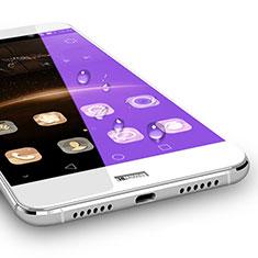 Schutzfolie Full Coverage Displayschutzfolie Panzerfolie Skins zum Aufkleben Gehärtetes Glas Glasfolie für Huawei G7 Plus Weiß