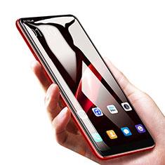 Schutzfolie Full Coverage Displayschutzfolie Panzerfolie Skins zum Aufkleben Gehärtetes Glas Glasfolie für Huawei Honor 9i Schwarz