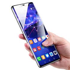 Schutzfolie Full Coverage Displayschutzfolie Panzerfolie Skins zum Aufkleben Gehärtetes Glas Glasfolie für Huawei Mate 20 Pro Schwarz