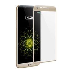 Schutzfolie Full Coverage Displayschutzfolie Panzerfolie Skins zum Aufkleben Gehärtetes Glas Glasfolie für LG G5 Gold