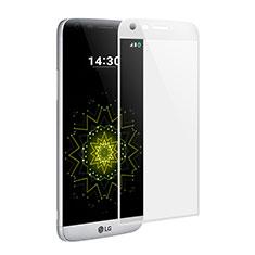 Schutzfolie Full Coverage Displayschutzfolie Panzerfolie Skins zum Aufkleben Gehärtetes Glas Glasfolie für LG G5 Weiß