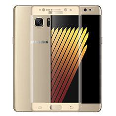 Schutzfolie Full Coverage Displayschutzfolie Panzerfolie Skins zum Aufkleben Gehärtetes Glas Glasfolie für Samsung Galaxy Note 7 Gold