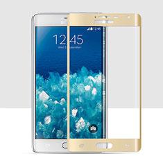 Schutzfolie Full Coverage Displayschutzfolie Panzerfolie Skins zum Aufkleben Gehärtetes Glas Glasfolie für Samsung Galaxy Note Edge SM-N915F Gold