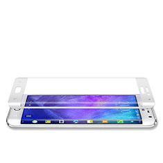 Schutzfolie Full Coverage Displayschutzfolie Panzerfolie Skins zum Aufkleben Gehärtetes Glas Glasfolie für Samsung Galaxy Note Edge SM-N915F Weiß