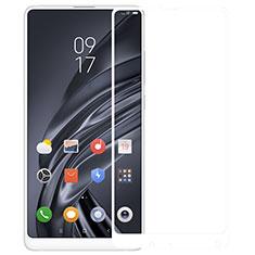 Schutzfolie Full Coverage Displayschutzfolie Panzerfolie Skins zum Aufkleben Gehärtetes Glas Glasfolie für Xiaomi Mi Mix 2S Weiß