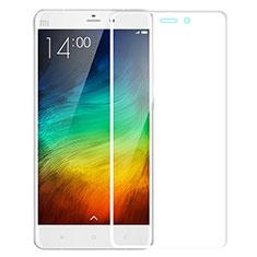 Schutzfolie Full Coverage Displayschutzfolie Panzerfolie Skins zum Aufkleben Gehärtetes Glas Glasfolie für Xiaomi Mi Note Weiß