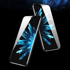 Schutzfolie Full Coverage Displayschutzfolie Panzerfolie Skins zum Aufkleben Gehärtetes Glas Glasfolie P05 für Apple iPhone Xs Max Schwarz