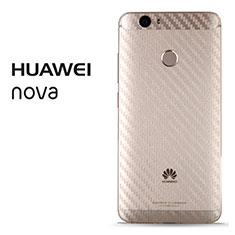 Schutzfolie Schutz Folie Rückseite B02 für Huawei Nova Klar