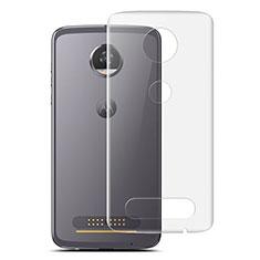Schutzfolie Schutz Folie Rückseite für Motorola Moto Z2 Play Klar