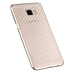 Schutzfolie Schutz Folie Rückseite für Samsung Galaxy C7 SM-C7000 Klar