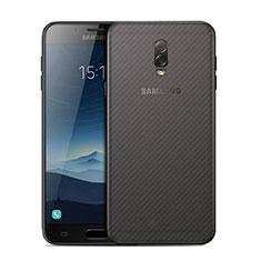 Schutzfolie Schutz Folie Rückseite für Samsung Galaxy J7 Plus Klar