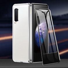 Schutzfolie Schutz Folie Rückseite Skins zum Aufkleben Panzerglas für Samsung Galaxy Fold Klar