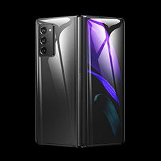 Schutzfolie Schutz Folie Rückseite Skins zum Aufkleben Panzerglas für Samsung Galaxy Z Fold2 5G Klar
