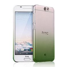 Schutzhülle Handytasche Durchsichtig Farbverlauf für HTC One A9 Grün