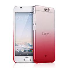 Schutzhülle Handytasche Durchsichtig Farbverlauf für HTC One A9 Rot