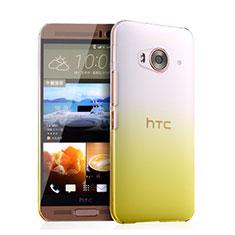 Schutzhülle Handytasche Durchsichtig Farbverlauf für HTC One Me Gelb