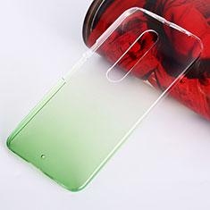 Schutzhülle Handytasche Durchsichtig Farbverlauf für Motorola Moto X Style Grün