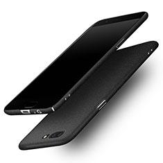 Schutzhülle Kunststoff Handyhülle Hülle Treibsand für OnePlus 5 Schwarz
