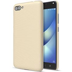 Schutzhülle Kunststoff Hülle Matt für Asus Zenfone 4 Max ZC554KL Gold