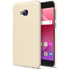 Schutzhülle Kunststoff Hülle Matt für Asus Zenfone 4 Selfie Pro Gold