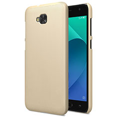 Schutzhülle Kunststoff Hülle Matt für Asus Zenfone 4 Selfie ZD553KL Gold