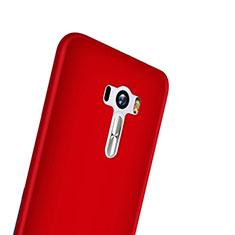 Schutzhülle Kunststoff Hülle Matt für Asus Zenfone Selfie ZD551KL Rot