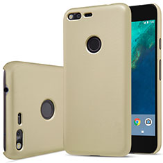 Schutzhülle Kunststoff Hülle Matt für Google Pixel Gold
